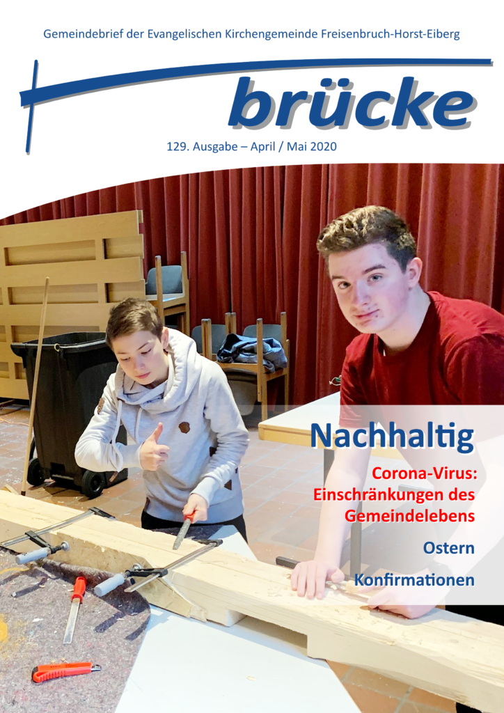 Titelbild der Ausgabe April/Mai 2020