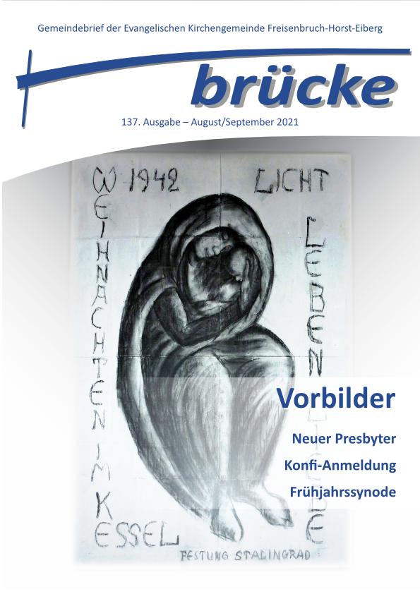 Titelbild Ausgabe August - September 2021